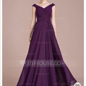 Dresses & Skirts - Off shoulder dusty rose bridesmaid dress ♥️